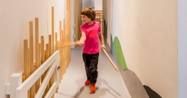 innendesign flur gestaltung-kindergarten tagesstätte berlin kita, Schlafzimmer