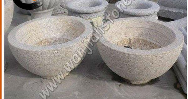 Maceta de piedra natural imagen productos de jard n de - Piedras para jardin baratas ...
