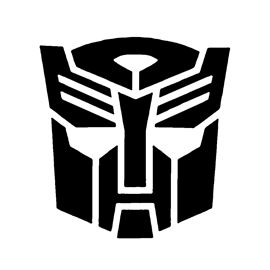 Transformers Autobot Symbol Stencil Halloween Pumpkin Stencils Pumpkin Stencil Pumpkin Stencils Free
