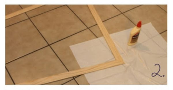 how to cut baseboard with miter box