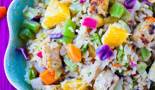 orange and rice recipe