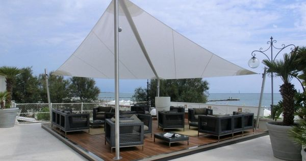 Voile D 39 Ombrage En 44 Photos Pour Votre Espace Ext Rieur Pergolas Outdoor Spaces And Outdoor
