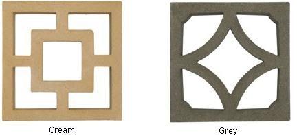 Decorative Concrete Partition Screen Blocks Walling Screen