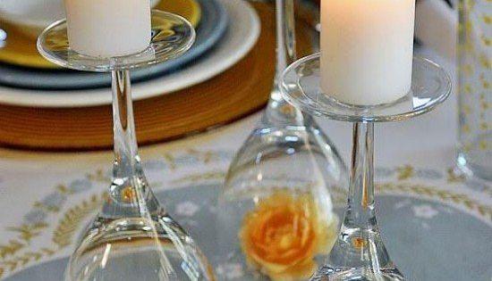 Décoration photophore en 25 idées à fabriquer soi-même  Tables ...