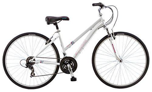 Schwinn Women S S3047tr Verano Hybrid Bike 16 Small White Hybrid Bike Hybrid Bicycle Bicycle