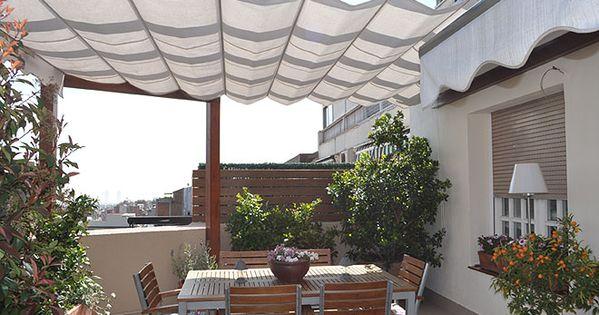 Las terrazas de adriana y carmen verano carmen dell - Decoracion para terrazas ...