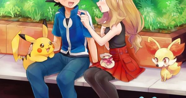 Ash and serena cute pokemon saison 18 pinterest - Pokemon saison 18 ...