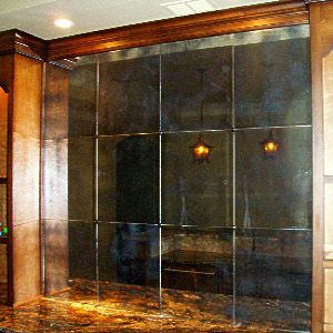 Distressed Mirror Mercury Glass Antique Mirror Glass Glass Mirror Tiles Mercury Glass Mirror