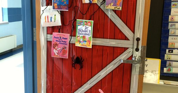 Charlotte S Web Inspired Classroom Door Decoration