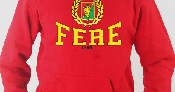 T-shirt Maglietta J1271 Fere Terni Ultras Curva Nord Ternana No Al Calcio Modern