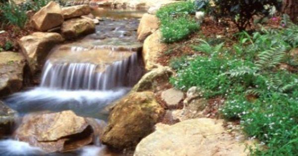 Cascade Et Fontaine De Jardin 69 D Co Pour Les Moments De Relaxe Designs De