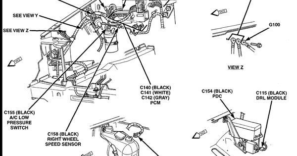 1996 jeep grand cherokee fuel filter location