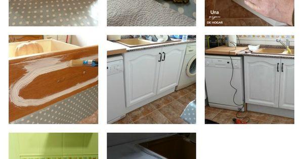 Reforma de mi cocina sin obras cocina gris eames y pintar - Reformas de cocinas sin obras ...