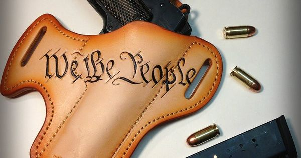 The declaration leather guns and holsters for Gun holster tattoo
