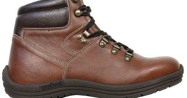 Vegan Vegetarian Non Leather Woens Black Hiking Boots