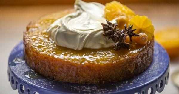 Ottolenghi Flourless Orange Almond Cake Recipe