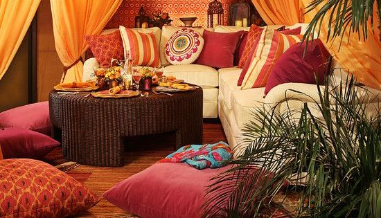 diy morrocan zen room | Moroccan Themed Bedroom : Wonderful Mediterranean Living