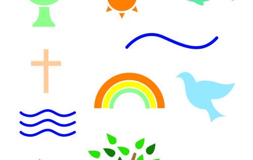 Symbole zur Taufe: Fische, Schiffe und der Baum des Lebens ...