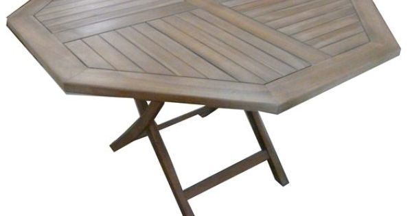 Teak Octagonal Outdoor Table Brand New Item Price Dimensions Length