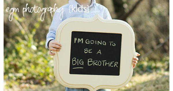 Sibling Pregnancy Photo idea