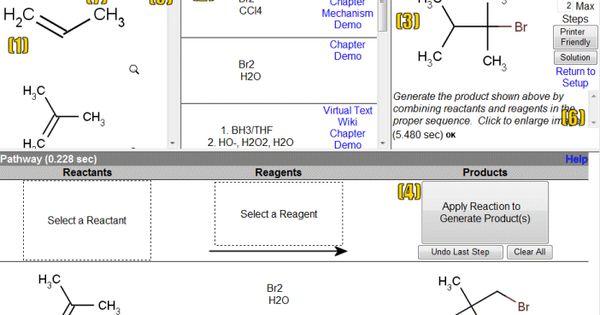 Reactions  Reaction Explorer Link HttpCdbIcsUciEduCgibin