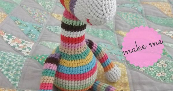 Free Crochet Giraffe Pattern by: I Love Buttons By Emma - what