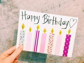 誕生日カードを手作りしよう メッセージを添える素敵なアイデア おすすめ素材特集 バースデーカード 手書き 誕生日 メッセージカード 手作り 誕生カード