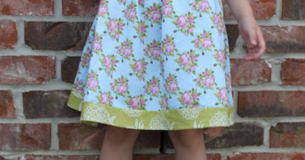 Criss-cross bodice Caroline toddler dress by My Own Road