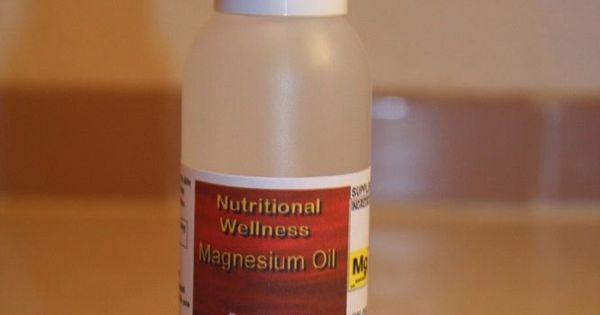 Magnesium oil 4oz NutritionalWellness