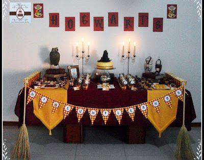 Sweet table harry potter mesas dulces de dise o for Harry potter cuartos decoracion