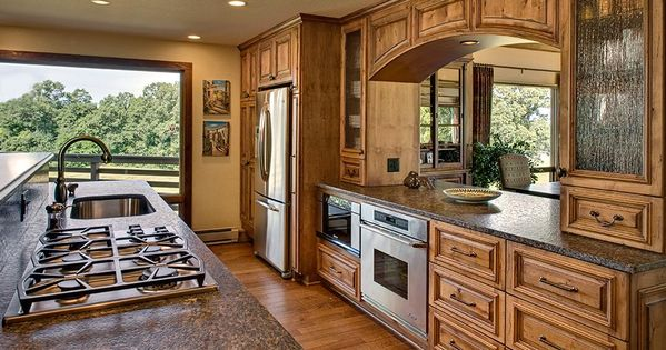 Rustic Kitchen Remodel rustic kitchen remodeling |  » gallery » additions » mequon