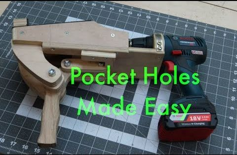 Pocket Holes Are Never Going To Be The Same Think