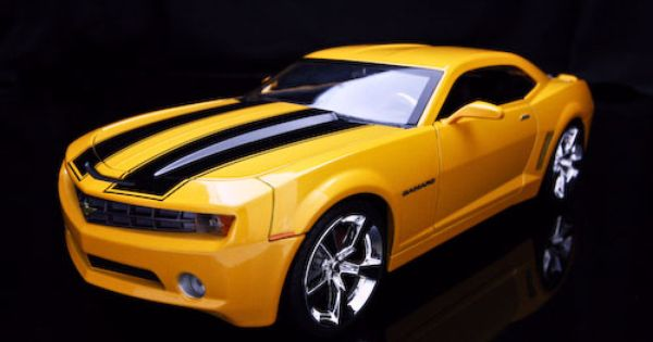 Jack Hyde S 2006 Yellow Black Chevrolet Camaro Diecast Model Car