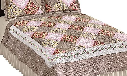 f21b175275ead0d8fcb35de76c4ffc28 - Better Homes And Gardens Pleated Diamond Quilt Collection
