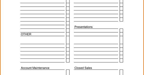 sales call sheet template sales call report sheet
