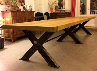 Robin Sicle Meuble Table Bureau Roanne Lyon Saint Etienne Table Salle A Manger Table Bois Massif Salle A Manger Industrielle