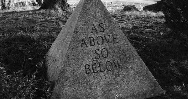 """Alyson Noel Quote: """"As above, so below, as within, so ... 
