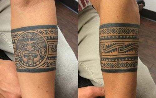 Aztec Band Tattoos aztec armband t...