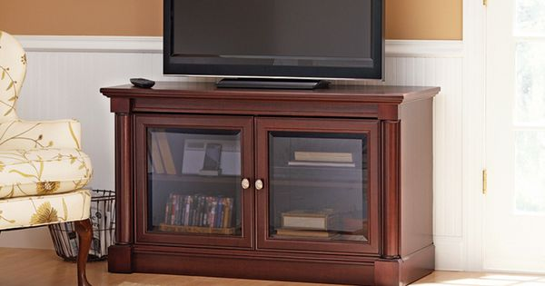 Better Homes And Gardens Ashwood Road Cherry Tv Stand For Tvs Up To 47 Gardens Cherries And