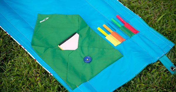 DIY Outdoor Activity Mat For Kids - Sewing Secrets