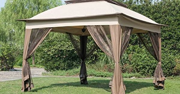 Sunjoy Replacement Canopy Set For 11x 11ft Pop Up Gazebo