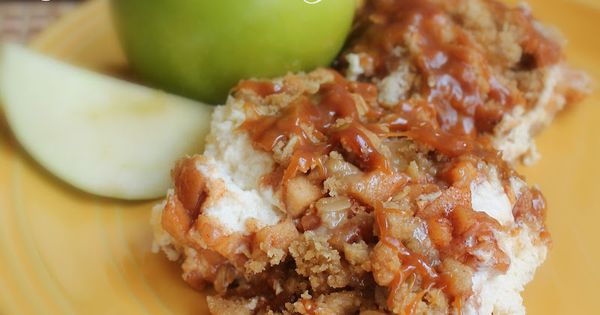 Caramel Apple Cheesecake Bars Recipe Health Desserts, Cream Cheese Desserts, S'Mores Bar,