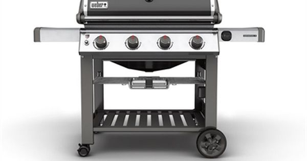 Weber Genesis Ii E 410 4 Burner 48000 Btu Natural Gas Gas Grill With Side Burner With Images Gas Grill Natural Gas Grill Best Gas Grills