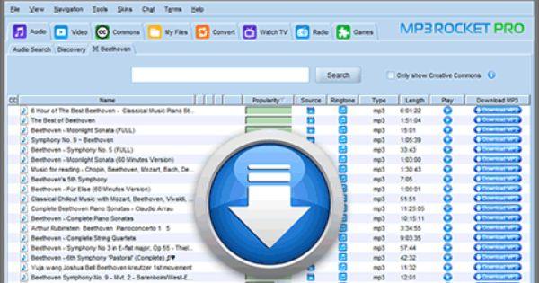 Mp3 Rocket Download V6 4 8 Get Fastest Turbo Mp3 Converter Descargar Música Musica Descarga De Música