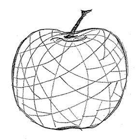 Art 1 Textured Apples Art Lessons Apple Art Elements Of Art