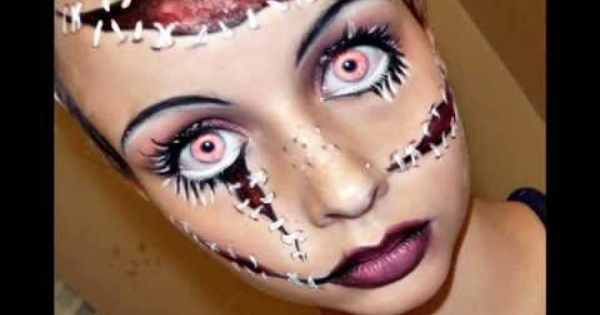 30+ video tutorials for exceptional Halloween makeup. Halloween Series 2011: Living Doll