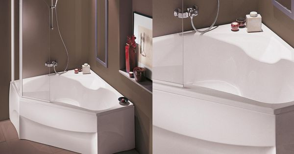 baignoire confortable jacob delafon angle bain douche id es sdb 1er pinterest. Black Bedroom Furniture Sets. Home Design Ideas