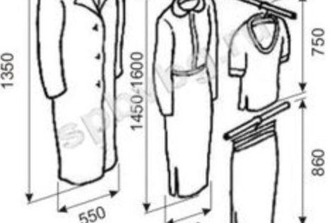 Standards Interiores De Armarios Interiores De Placard Armarios De Dormitorio