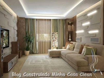 Home Theater 20 Projetos De Salas De TV Modernas