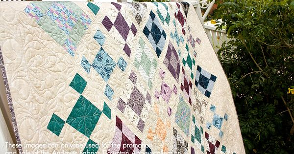 Ladies Of Downton Abbey Quilt Kit Now Available At Fat